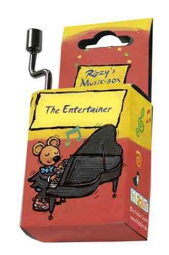 "music box ""The Entertainer"""