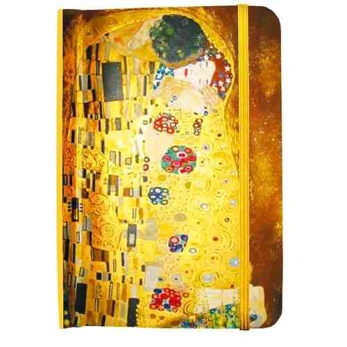 "Address book Klimt: ""The Kiss"""