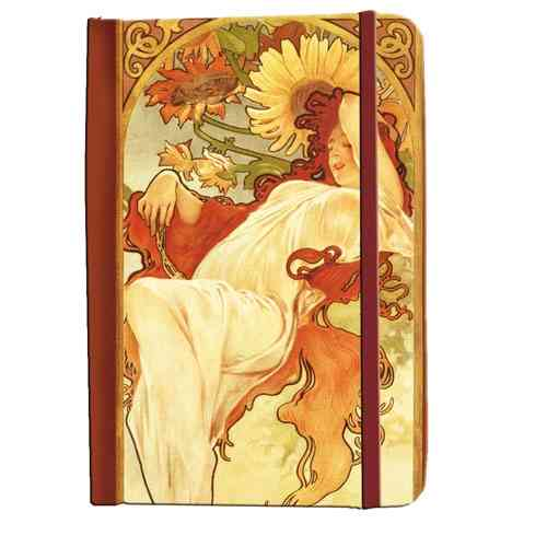 "Address book Alfons Mucha ""Summer 1897"""