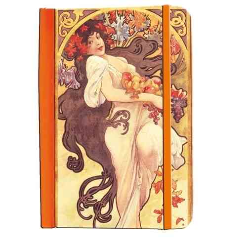 "Note book Alfons Mucha ""Autumn 1897"""