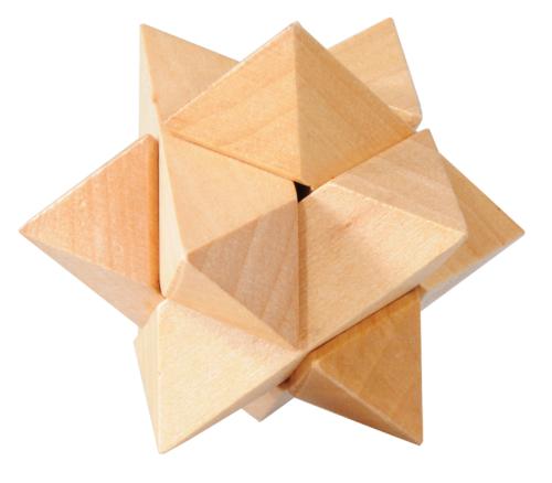 iq test stern 3d puzzle aus holz fridolin. Black Bedroom Furniture Sets. Home Design Ideas