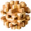 "3D-Puzzle, ""Magic blocks"", aus Bambus, IQ-Test"