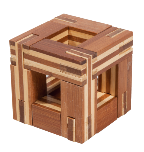"3D-Puzzle, ""Magic frame"",bamboo, IQ test"