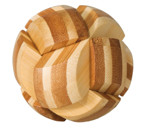 "3D puzzle, ""Ball"", IQ-Test, bamboo"