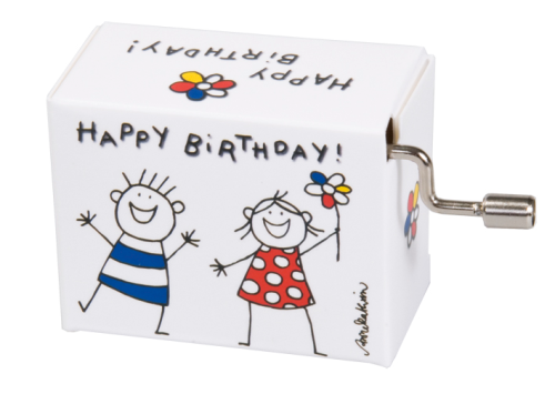 "Music box ""Happy Birthday"""