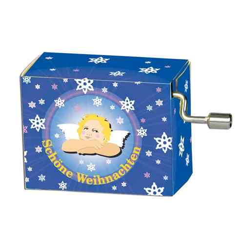 "Christmas music box ""Silent Night"""