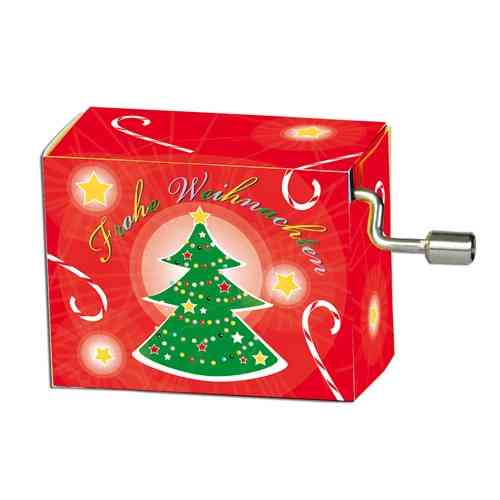 "Music box ""O Christmas tree"""