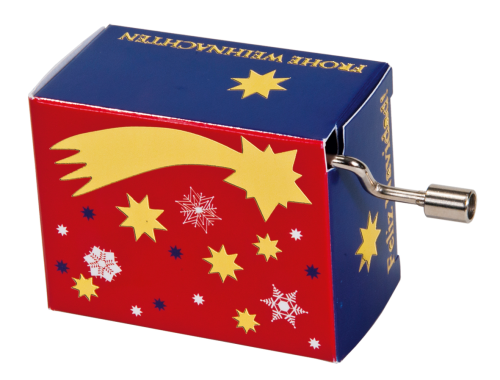 "Music box ""Jingle Bells"" (with gold imprint)"