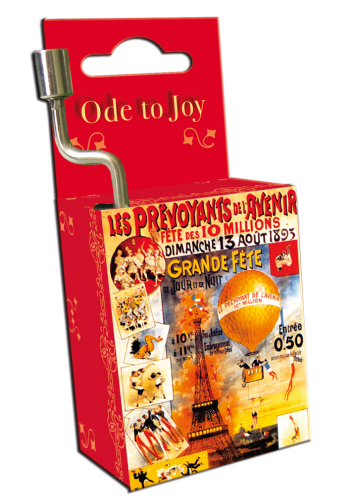 "Spieluhr ""Ode to joy"" in Box ""Art Nouveau"""