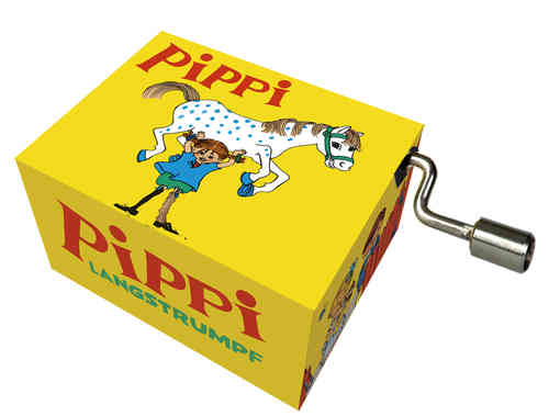 "Music box ""Hey, Pippi Langstrumpf"""