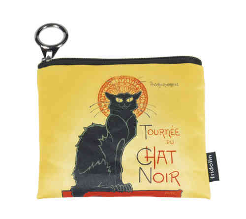 "Mini-Geldbeutel ""Chat Noir"""