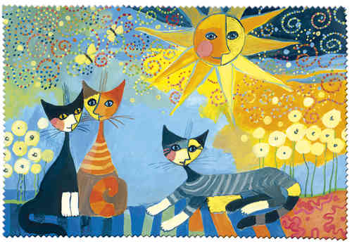 "Eyeglass cleaning cloth ""Rosina Wachtmeister - Dolce Vita"""