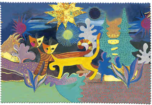 "Eyeglass cleaning cloth ""Rosina Wachtmeister - Wonderland"""