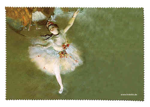 "eyeglass cleaning cloth ""Degas - The Star"""
