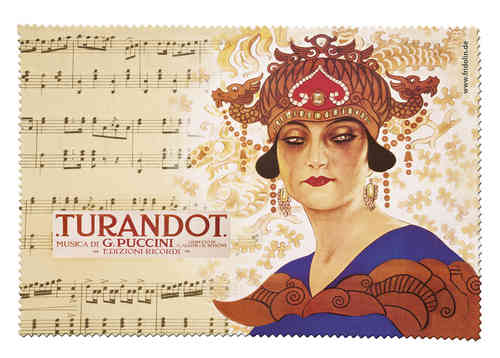 "eyeglass cleaning cloth ""Opera - Turandot"""