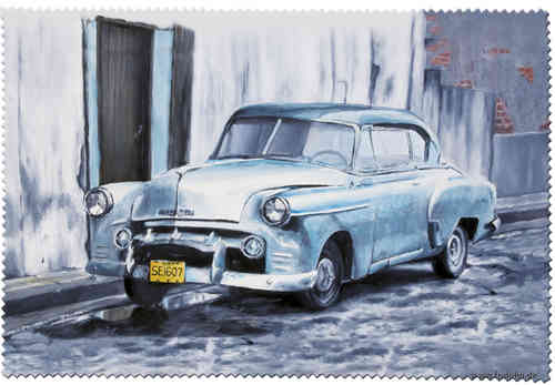 "Eyeglass cleaning cloth ""Cuba Classics - Chevrolet"""