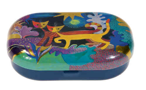 "Box for contact lenses ""Rosina Wachtmeister - Wonderland"""