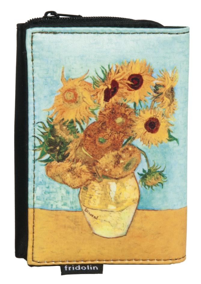 Geldbörse Van Gogh Sonnenblumen Fridolin