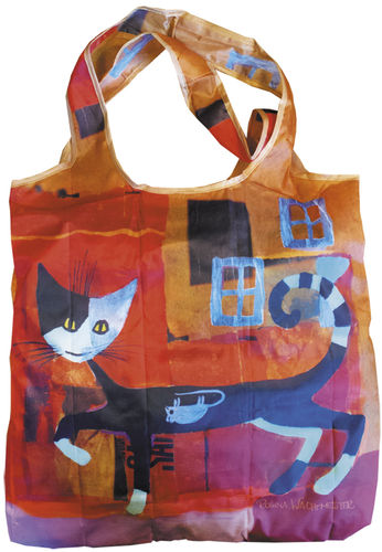 "Einkaufstasche ""Wachtmeister - Ivano with mouse"", bag in bag"
