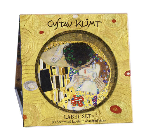 "Label Set Book (80 labels) ""Gustav Klimt"" - Fridolin"
