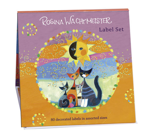 "Label Set Book (80 labels) ""Rosina Wachtmeister"""