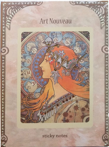 "Sticky Notes Display ""Art Nouveau"" - Fridolin"