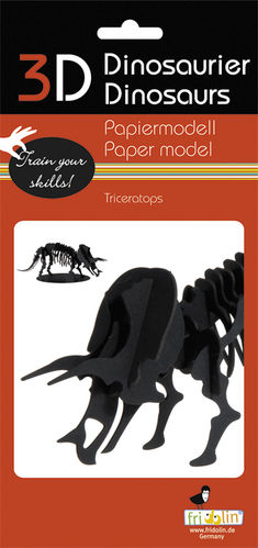 3D Paper model - Triceratops