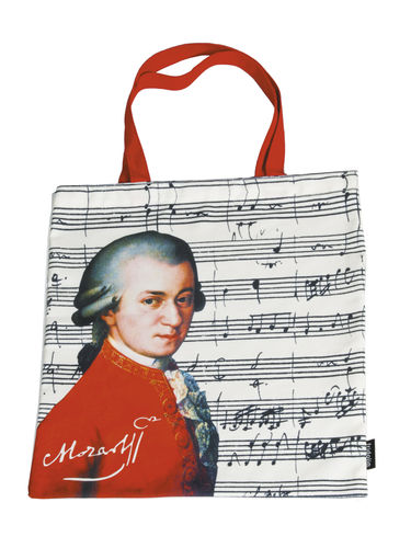 "Art Shopping Bag ""Mozart"""