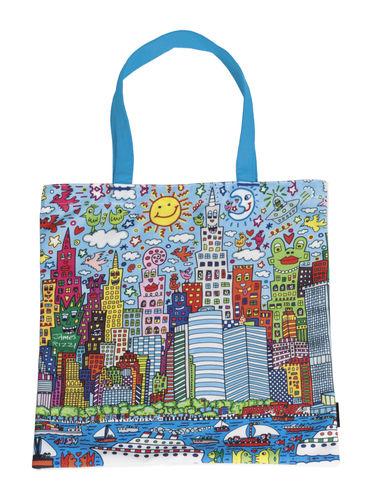 "Art Shopping Bag ""James Rizzi - My New York City"""