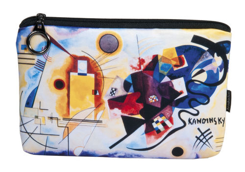 "Cosmetic bag ""Kandinsky - Yellow-Red-Blue"""