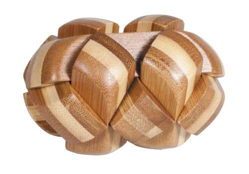"""IQ-Test"" bamboo puzzle ""Oval"""