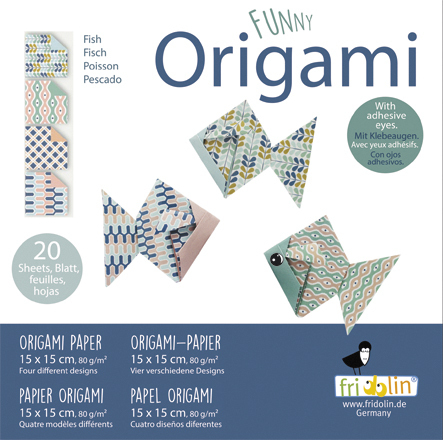 Paper Fish making instruction - How to make an Origami Fish step ... | 440x443