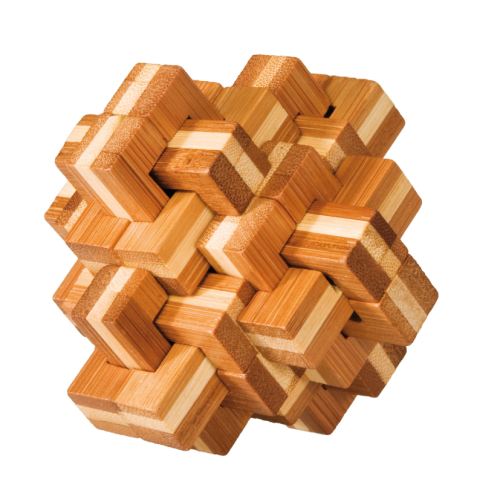 "3D puzzle, ""Pineapple"", IQ-Test, bamboo"