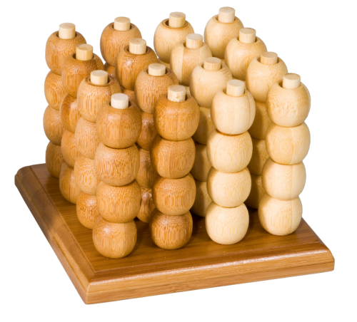 Bamboo Game - 3D Mühle, groß