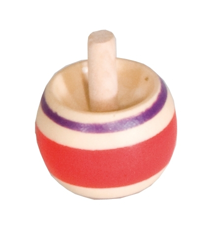 wooden spinning tops (tippe top) - 2 in each box