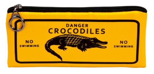 "Pencil bag ""Crocodiles"""