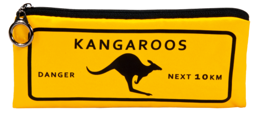 "Pencil bag ""Kangaroos"""