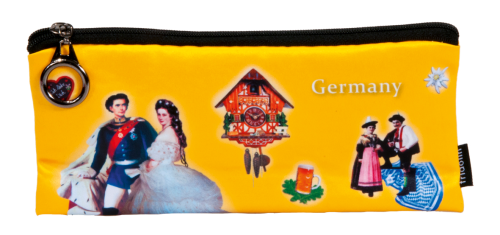 "Pencil bag ""Germany - yellow"""