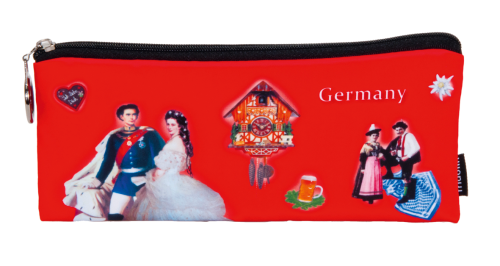 "Pencil bag ""Germany - red"""