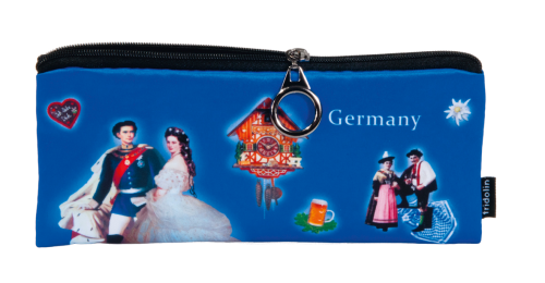 "Pencil bag ""Germany - blue"""