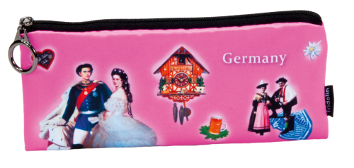 "Pencil bag ""Germany - pink"""