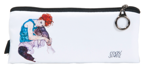 "Pencil bag ""Schiele - Sitting woman"""