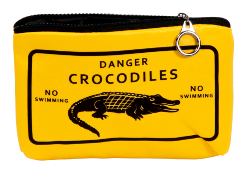 "Cosmetic bag ""Adventure time - Crocodiles"""