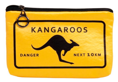 "Cosmetic bag ""Adventure time - Kangaroos"""