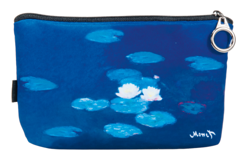 "Cosmetics bag, Monet ""Water lilies"""