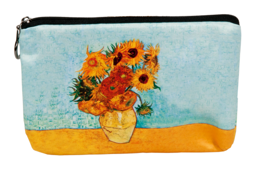 "Cosmetics bag, van Gogh ""Sunflowers"""