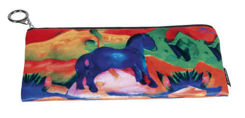 "Pencil bag ""Franz Marc - Blue Horse"""