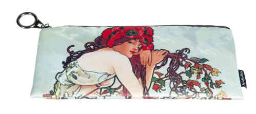"Pencil bag ""Art Nouveau - Rose"""