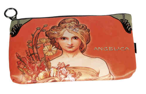 "Cosmetic bag ""Art Nouveau - Angelica"""