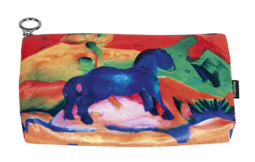 "Cosmetic bag ""Franz Marc - Blue horse"""